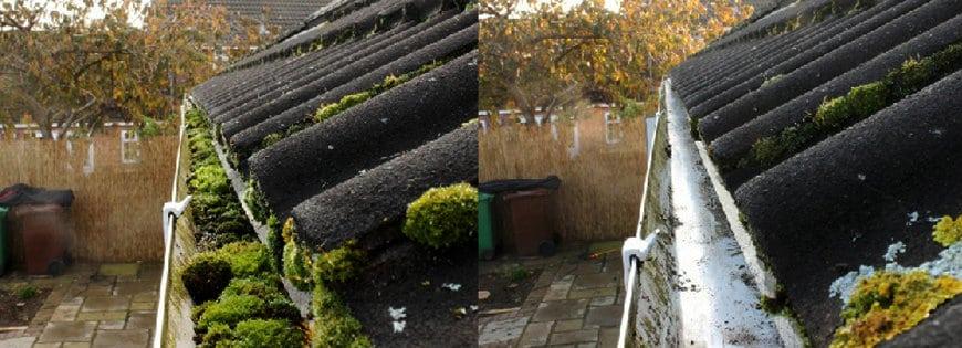 Dakgoten schoonmaken Bergen