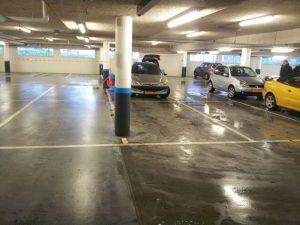 Schoonmaak Parkeergarage
