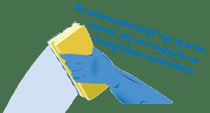 Glazenwasserheerhugowaard – Glazenwasserij en Schoonmaakbedrijf Retina Logo