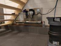 Osmose water tanken filterinstallatie