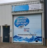 Osmose water tanken